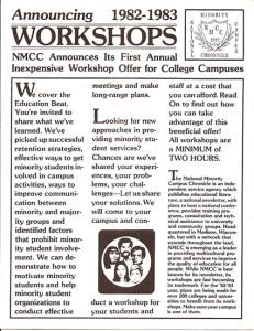 NMCC workshops